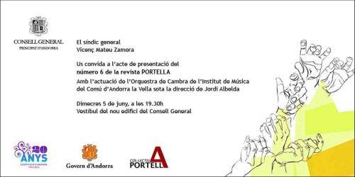 Presentació del sisè núremro de la Revista Portella · Primavera 2013