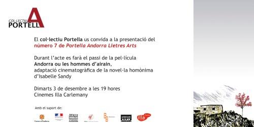 Presentació del setè número de la Revista Portella · Tardor 2013