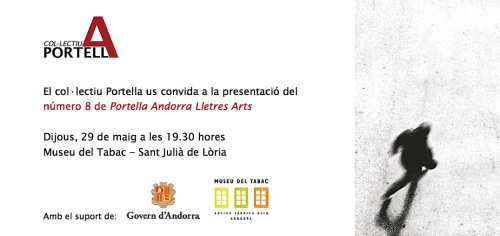 Presentació del vuitè número de la Revista Portella · Primavera 2014